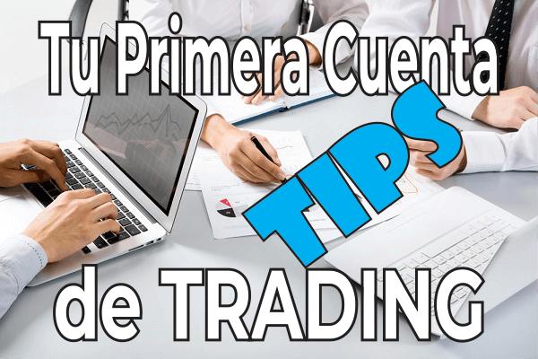 tips cuenta de trading