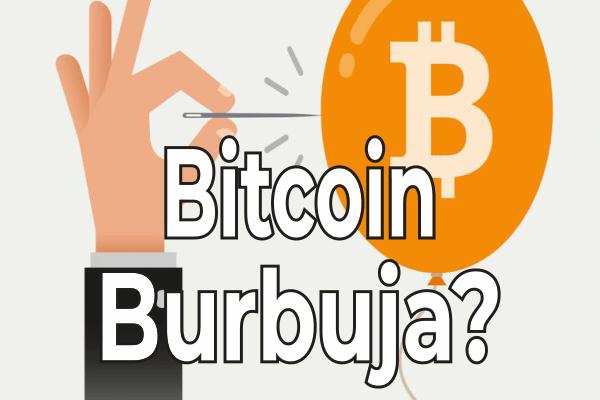bitcoin burbuja