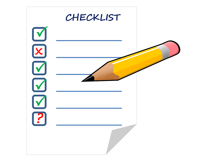 checklist trading