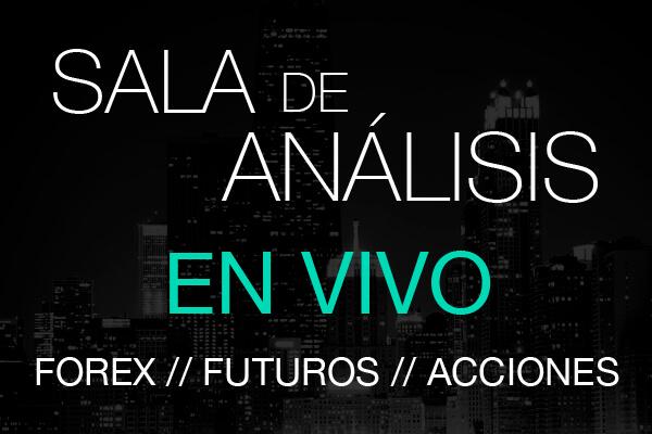 sala de trading forex acciones futuros